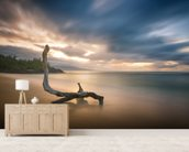 Placid Waters wall mural living room preview