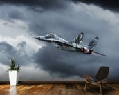 Mig 29 wall mural kitchen preview