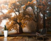 Autumn Story wall mural kitchen preview