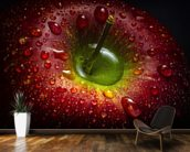 Red Apple wall mural kitchen preview