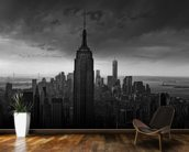 Rockerfeller View New York mural wallpaper kitchen preview