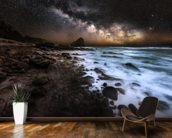 Galactic Warmth wall mural kitchen preview