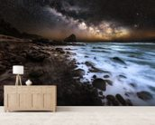 Galactic Warmth wall mural living room preview