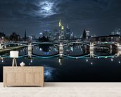 Frankfurt wall mural living room preview