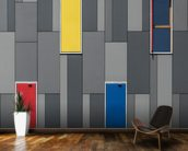 Three Colours and a Window wall mural kitchen preview
