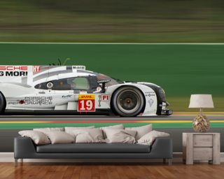 Porsche DMG MORI wallpaper mural