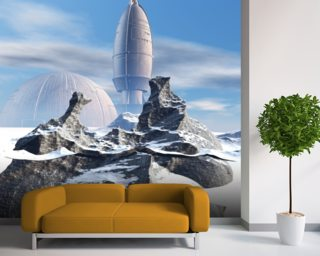 Sci Fi Space Wall Murals Wallpaper