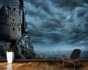 Castle wall mural kitchen preview