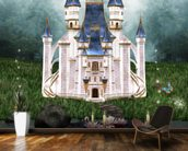Enchanted castle wall mural kitchen preview