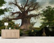 Fabulous garden wallpaper mural living room preview