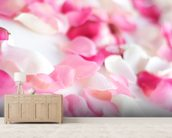 Rose Petals wall mural living room preview