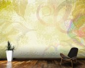 Flower Design mural wallpaper kitchen preview