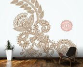 Henna Design wallpaper mural kitchen preview