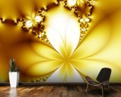 Beautiful flowers mural wallpaper kitchen preview