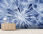 Soft Dandelion wall mural living room preview