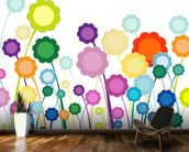 Flowers Painting wall mural kitchen preview