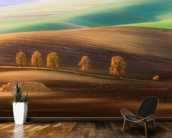 Moravian Trees wall mural kitchen preview