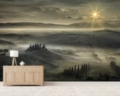 Tuscan Morning wall mural living room preview