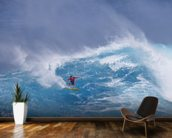 Surfing Jaws wallpaper mural kitchen preview
