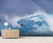 Surfing Jaws wallpaper mural living room preview