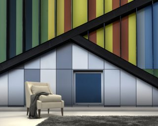 The Colour Symphony wallpaper mural