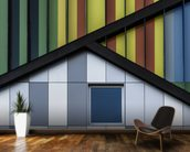 The Colour Symphony wallpaper mural kitchen preview