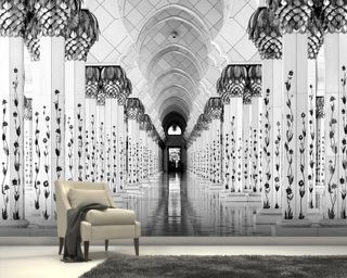 Sheik Zayed Mosque wallpaper mural