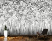 Parallelism mural wallpaper kitchen preview