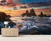 Dance with Light wall mural living room preview