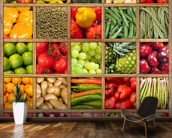 Fruit and Vegetable Collection wall mural kitchen preview