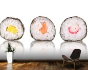 Sushi wall mural kitchen preview