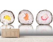 Sushi wall mural living room preview