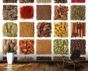 Indian Spice Selection wall mural kitchen preview