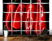 Red Paprika wall mural kitchen preview