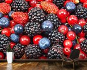 Fresh Berries wall mural kitchen preview