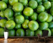 Fresh Limes wallpaper mural kitchen preview
