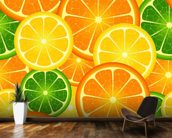 Citrus Fruits wallpaper mural kitchen preview