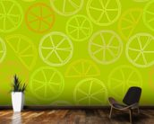 Citrus Pattern wall mural kitchen preview