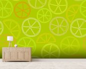 Citrus Pattern wall mural living room preview