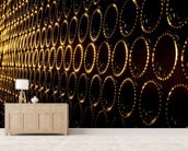 Wine wall mural living room preview