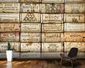 Wine Corks wallpaper mural kitchen preview