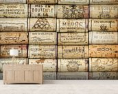Wine Corks wallpaper mural living room preview