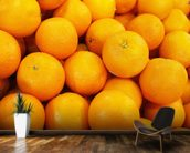 Fresh Oranges wallpaper mural kitchen preview
