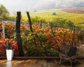 Vineyard in Bloom wall mural kitchen preview