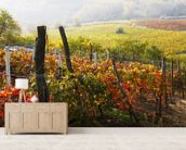 Vineyard in Bloom wall mural living room preview