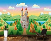 Medieval Castle wallpaper mural kitchen preview