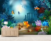 Underwater World wall mural living room preview