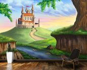 Fantasy Castle wallpaper mural kitchen preview