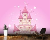 Fairy Castle wallpaper mural kitchen preview