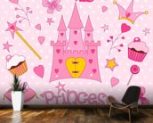 Princess Castle wall mural kitchen preview